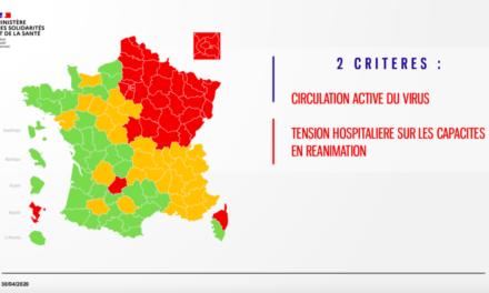 """Carte du déconfinement : la France divisée avec un code couleur """"infantilisant"""""""